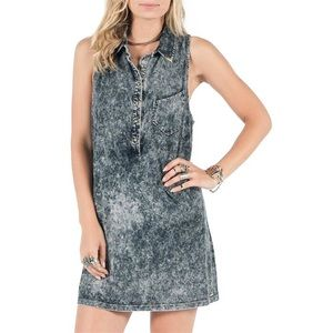 VOLCOM Acid Wash Dress